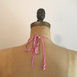 Burberry Dresses - Burberry   Pink Paisley Halter Dress